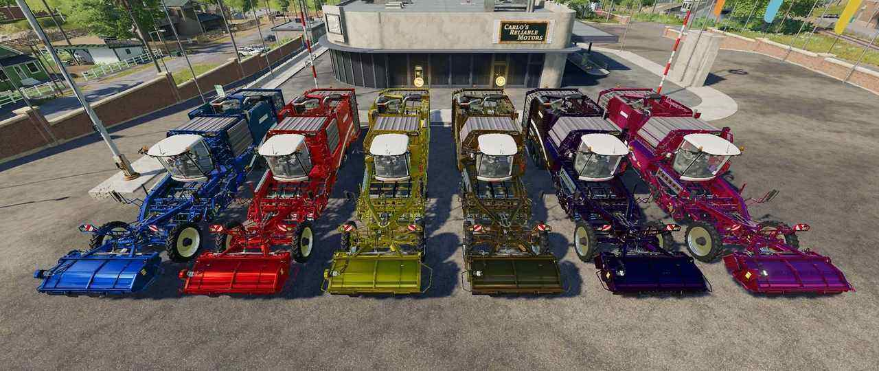 Мод Grimme Varitron 470 Gamling Edition v1.0.0.1 FS19