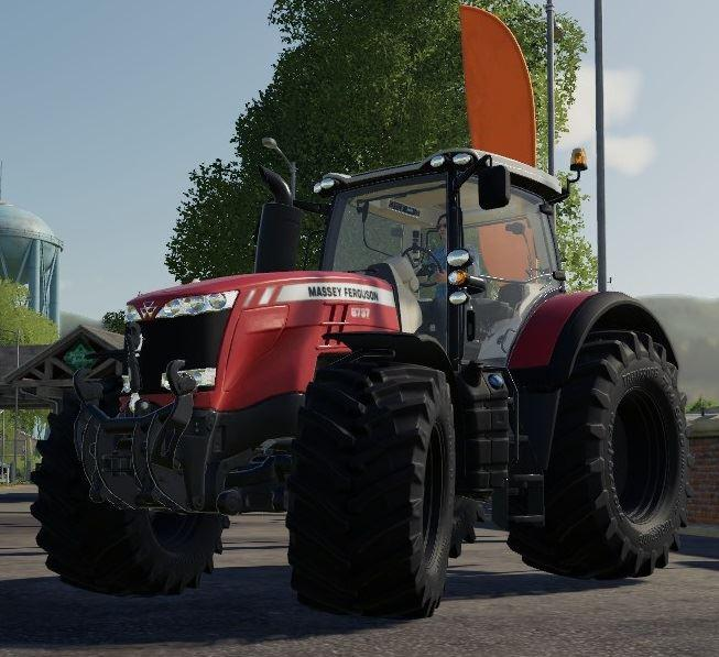 Мод трактор MF8700 Tractor Farming Simulator 2019