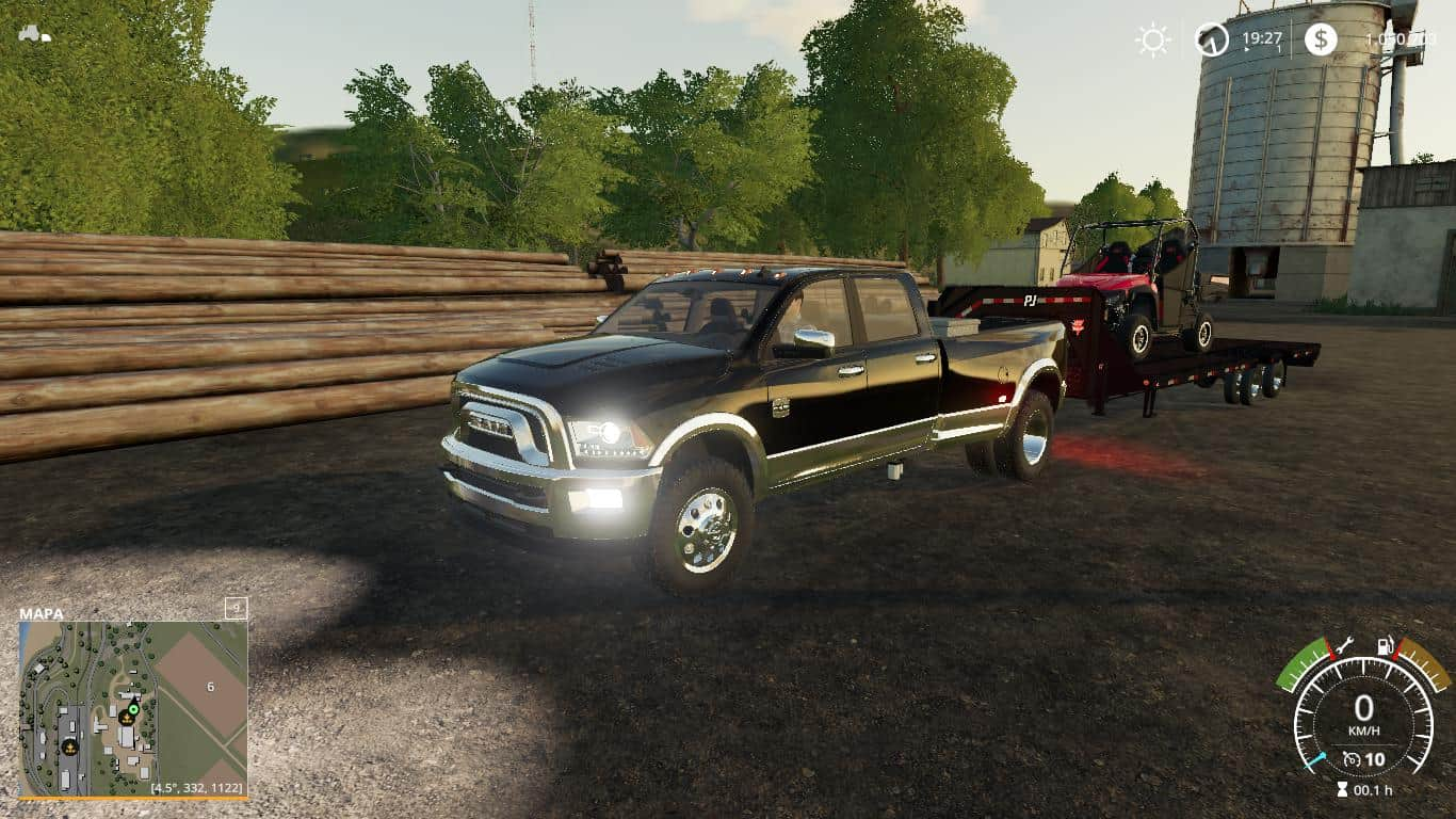 Мод авто Dodge ram 3500 heavy duty v1.0 FS19