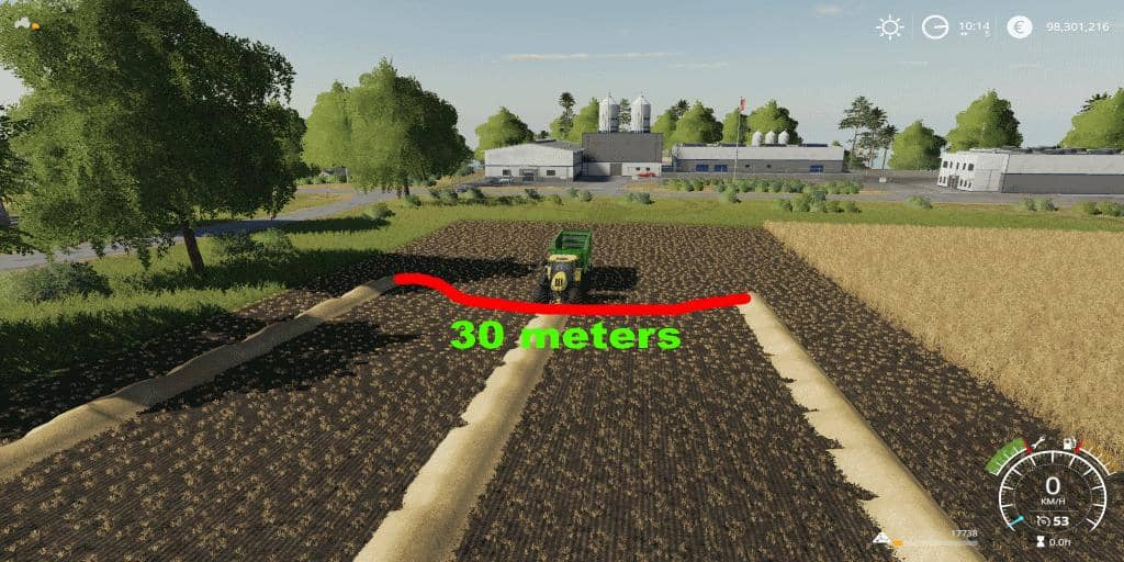 Мод прицеп Fendt Tigo Facility v1.0 Farming Simulator 19