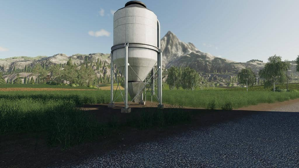 Мод Lime Station v1.0.0.0 Farming Simulator 19