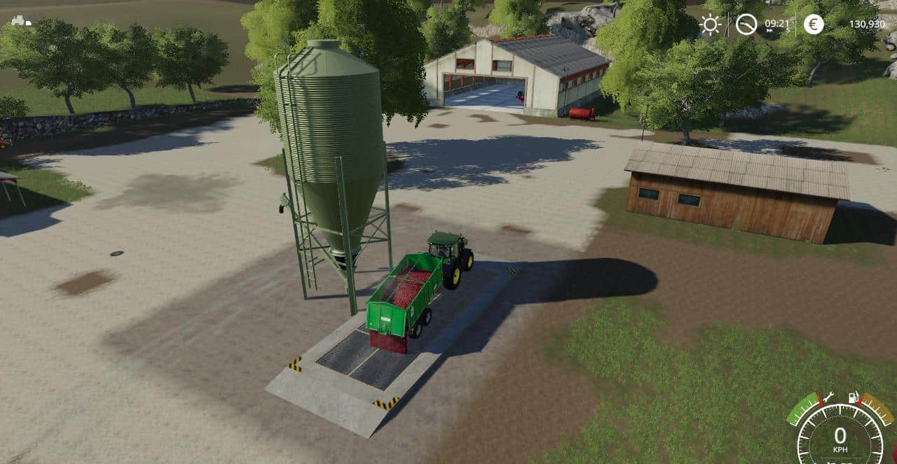 Мод хранилище MULTILAGER v1.02 Farming Simulator 19