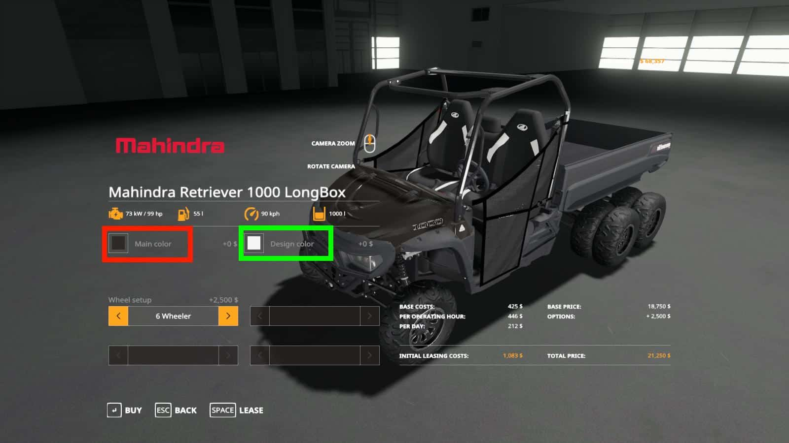Мод Mahindra Retriever Longbox Utility Color Edition V 3.2.0.0 FS19