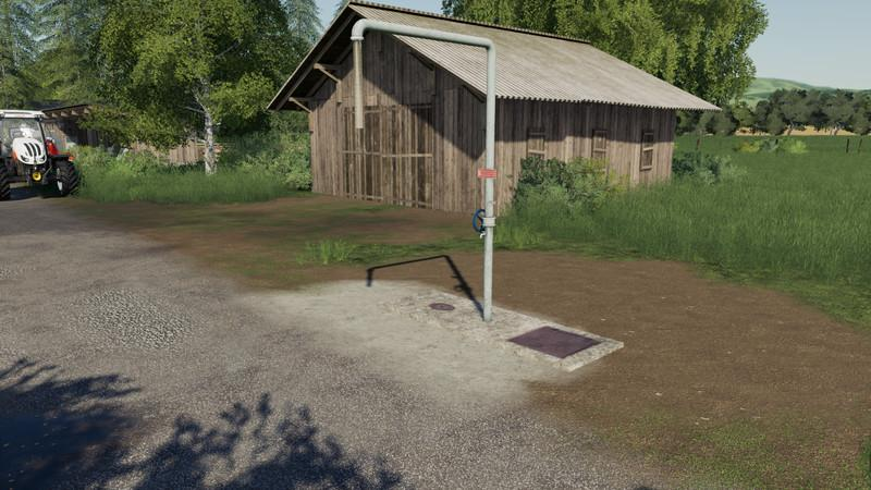 Мод Water extraction point V 1 Farming Simulator 19