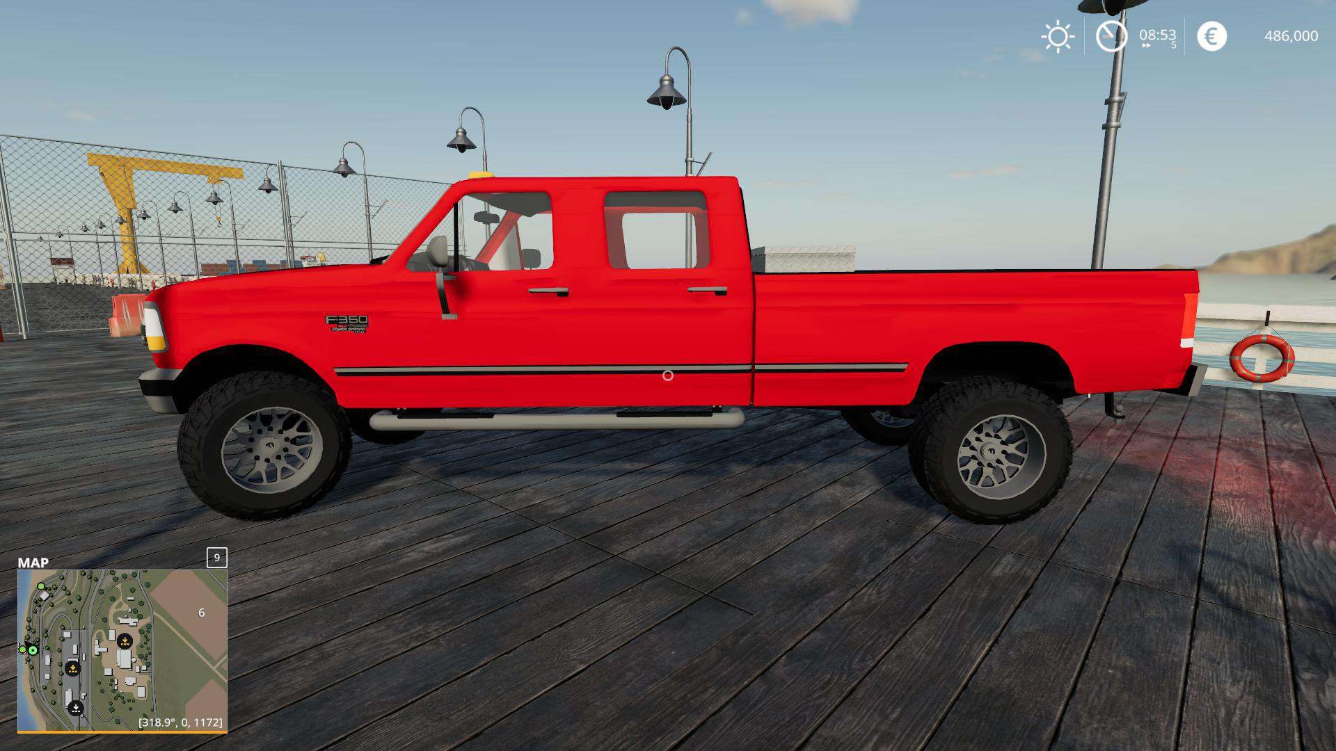 Мод авто Ford f350 1996 v1.0.0.0 Farming Simulator 2019