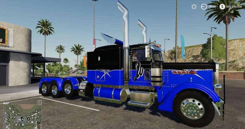 Мод тягач PETERBILT 389 STOCK V1.0.0.0 Farming Simualtor 19