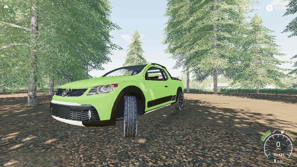 Мод авто VolksWagen Saveiro Cross G5 Farming Simulator 19