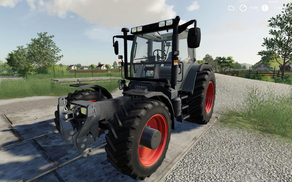 Мод трактор FENDT F 380GTA v1.0.0.2 Farming simulator 2019
