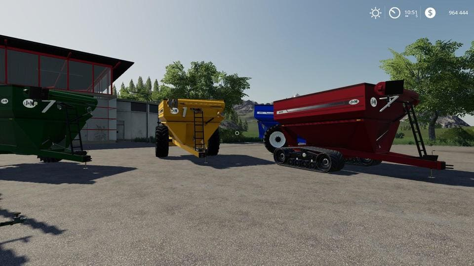 Мод прицеп JM875 v1.0.0.2 Farming Simulator 2019