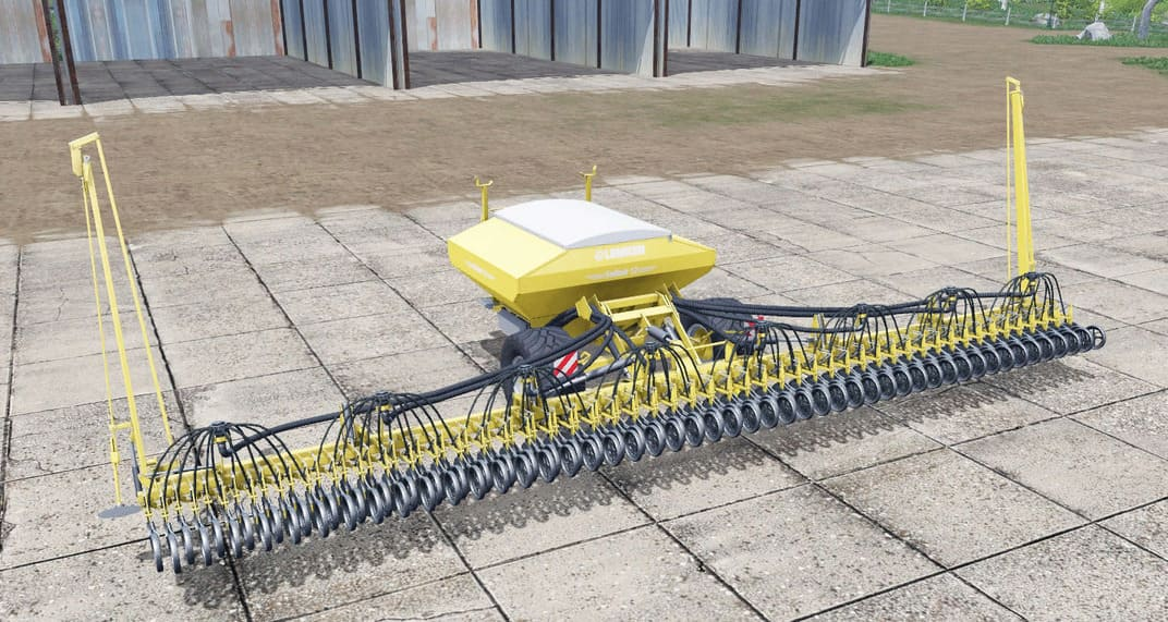 Мод сеялка Lemken Solitair 12 potato planter v1.0 FS17