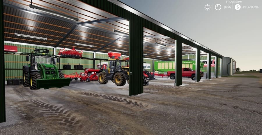 Мод ПАК PLACABLE SHED PACK V1.1 Farming Simulator 2019