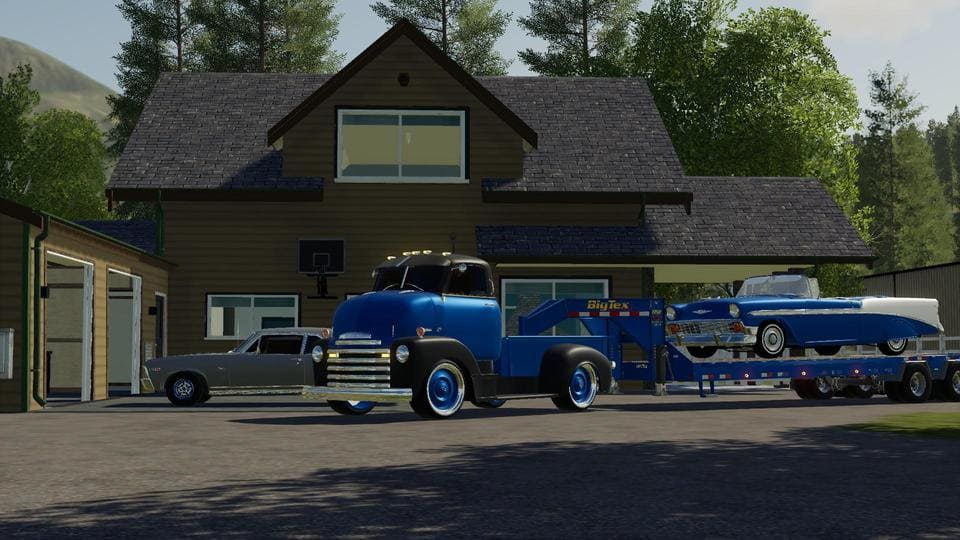 Moд авто 48 CHEVY COE PICKUP V1.0 Farming Simulator 19