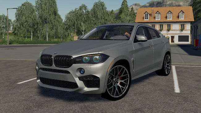 Мод авто Bmw X6m 2016 v1.0 Farming Simulator 19