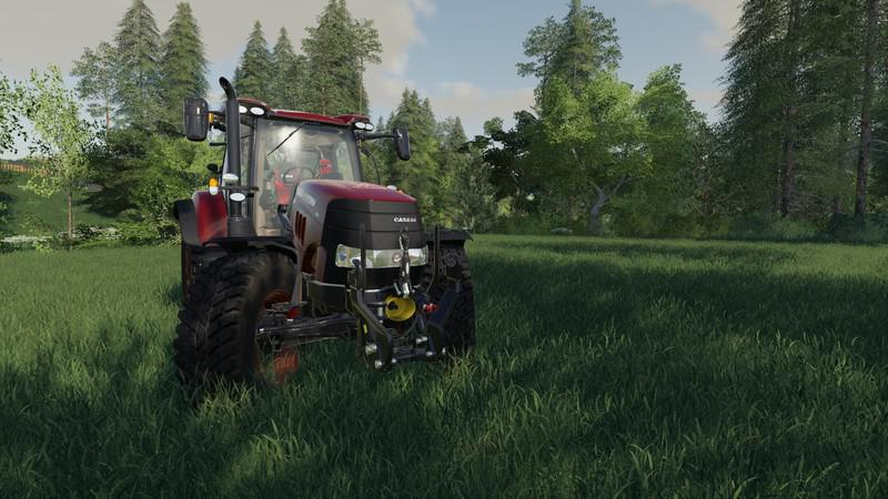 Moд трактор Case power v1.01 Farming Simulator 19