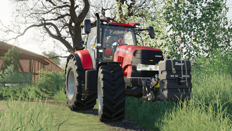 Moд трактор Case puma v1.0.0.0 Farming Simulator 19