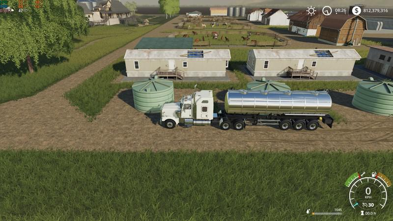 Мод карта NORTHWIND ACRES V1.0.0.0 Farming Simulator 19