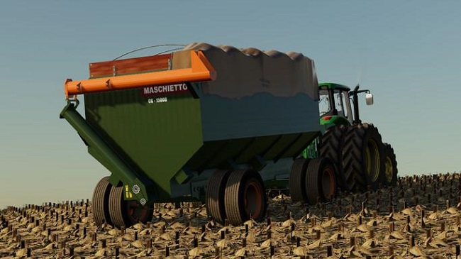 Мод прицеп Bazuka Maschietto 15000 v1.0 Farming Simulator 19