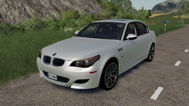Мод авто BMW M5 E60 v1.0 Farming Simulator 19