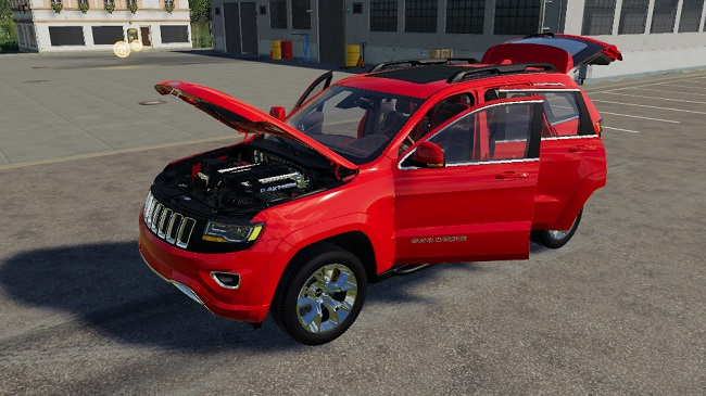 Мод авто Grand Jeep Cherokee v1.0 Farming Simulator 19