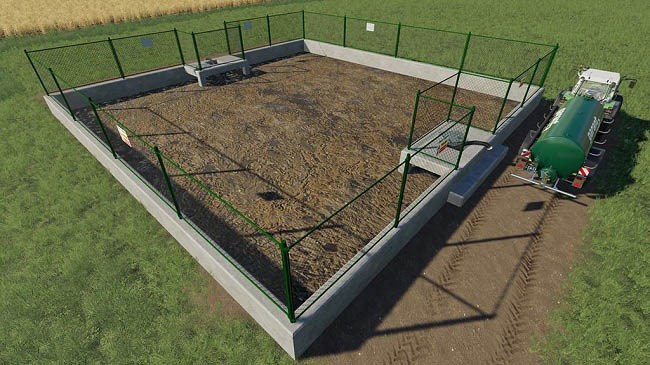 Мод Slurry Lagoon v1.0.0.0 Farming Simulator 2019