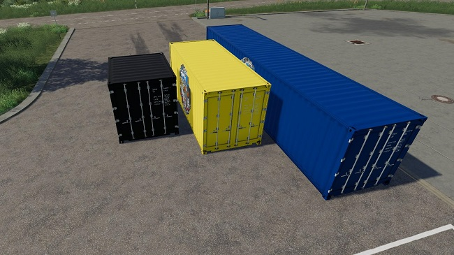 Мод ATC Container Pack