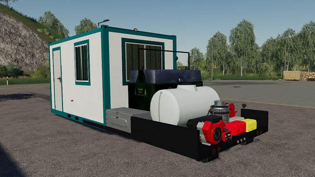 Мод Hooklift Service container v1.2 Farming Simulator 2019