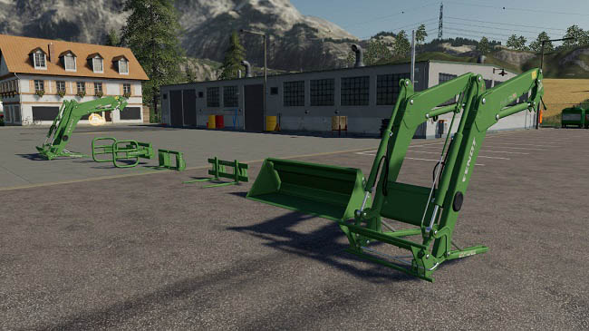 Мод ПАК Fendt Cargo Pack v1.0.0.0 Farming Simulator 19