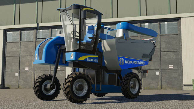 Мод комбайн New Holland Braud 9000L v1.1.0.0 FS19