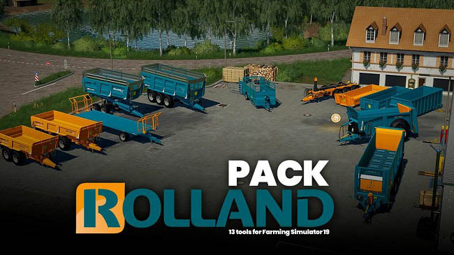 Мод ПАК Rolland Pack v1.0.0.0 Farming Simulator 19